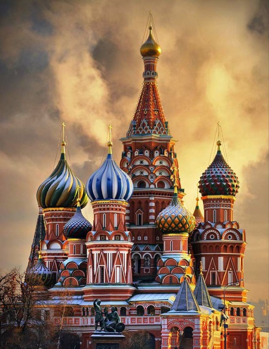 Russian Language Translation - St. Basil's Cathedral in Moscow: Courtesy of: kubansobor.ru